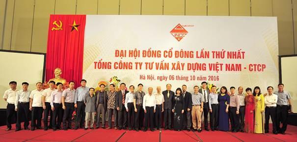 Tổng Công ty Tư vấn Xây dựng Việt Nam (VNCC) ra mắt Ban lãnh đạo mới - ảnh 3