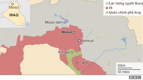 Kịch bản tổng tấn công thành lũy lớn nhất của IS ở Iraq - ảnh 2