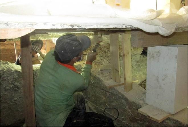 Ba tháng bóc gạch mosaic Thương xá Tax Sài Gòn để bảo tồn - ảnh 10