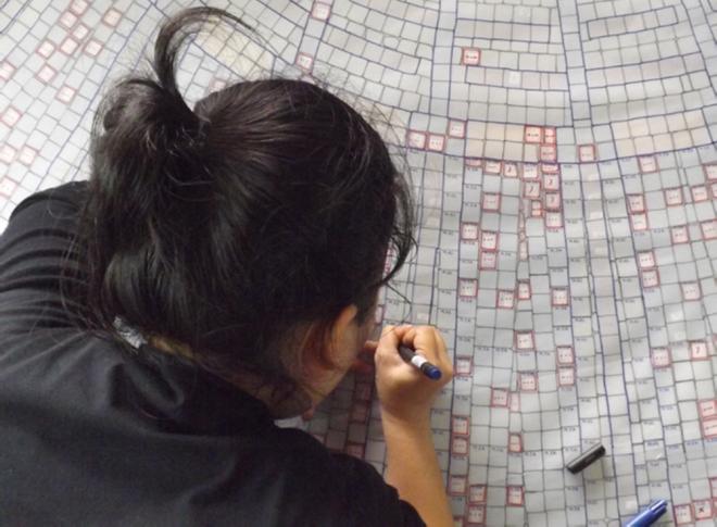 Ba tháng bóc gạch mosaic Thương xá Tax Sài Gòn để bảo tồn - ảnh 4