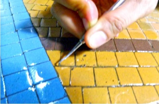 Ba tháng bóc gạch mosaic Thương xá Tax Sài Gòn để bảo tồn - ảnh 5