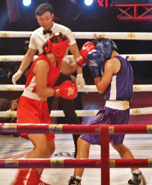 Màn so găng nảy lửa của các hotgirl làng Boxing Việt - ảnh 4