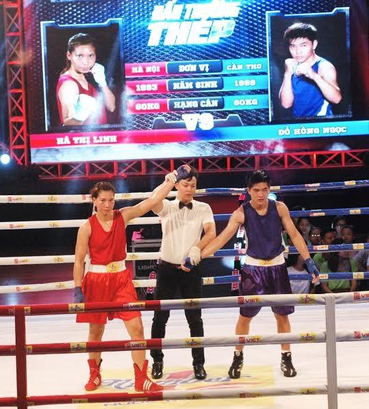 Màn so găng nảy lửa của các hotgirl làng Boxing Việt - ảnh 5