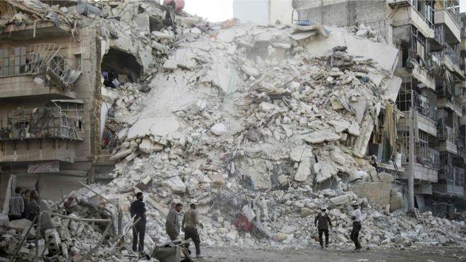 Nga tuyên bố dừng ném bom, thực hiện lệnh ngừng bắn ở Syria - ảnh 1