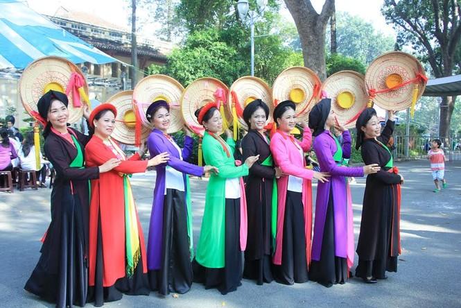 Đậm đà hồn túy dân tộc tại ngày hội Di sản Văn hóa TP. HCM 2016 - ảnh 4