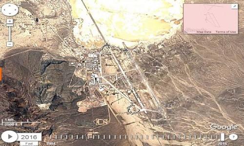 Ảnh vệ tinh hé lộ căn cứ quân sự bí ẩn nhất thế giới - ảnh 1