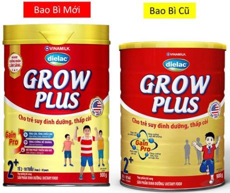 Vinamilk Dielac Grow Plus mới cho trẻ suy dinh dưỡng thấp còi, biếng ăn - ảnh 1
