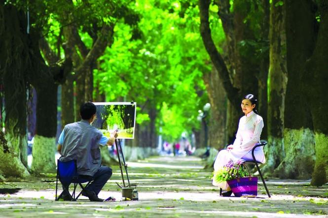 Những địa điểm chụp ảnh 'hút hồn' giới trẻ ở Hà Nội  - ảnh 5