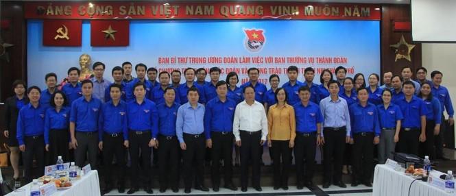 Thành Đoàn TPHCM phải nâng cao chất lượng đoàn viên một cách thực chất - ảnh 1