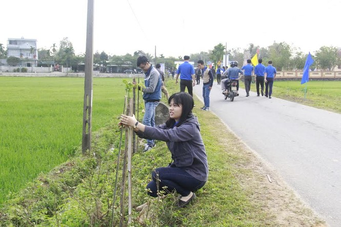Bí thư Trung ương Đoàn cùng ra quân trồng 1000 cây xanh - ảnh 3