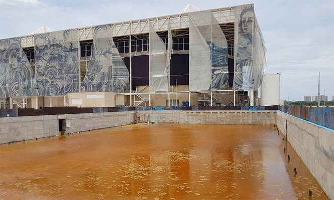 Công trình Olympic Rio 2016 hoang tàn sau 6 tháng kết thúc - ảnh 1
