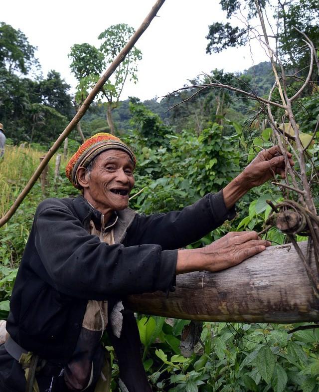 Ông lão 20 năm ở ẩn nơi rừng thẳm Quảng Ngãi - ảnh 2