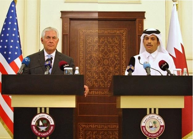 Tình báo Mỹ: UAE đứng sau cuộc khủng hoảng vùng Vịnh - ảnh 1