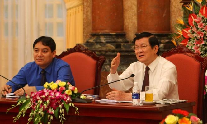 Chủ tịch nước: Thanh niên cần tự giác học tập tấm gương Bác Hồ - ảnh 1