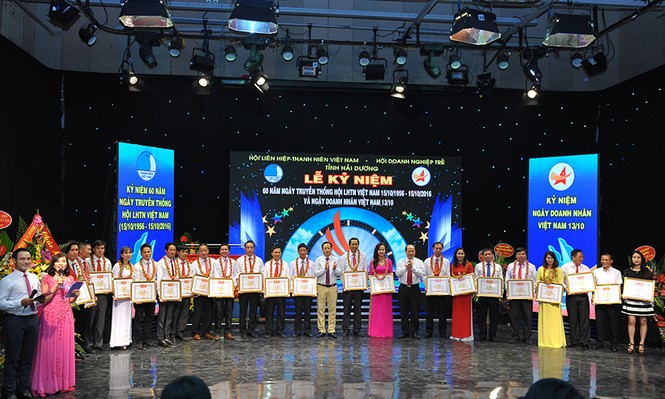 Khen thưởng doanh nhân trẻ tiêu biểu có thành tích trong công tác Hội - ảnh 4