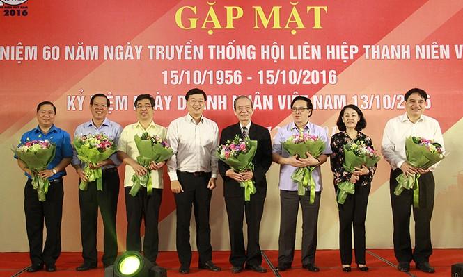 T.Ư Hội LHTN Việt Nam gặp mặt cán bộ làm công tác Hội các thời kỳ - ảnh 2