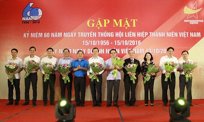 T.Ư Hội LHTN Việt Nam gặp mặt cán bộ làm công tác Hội các thời kỳ - ảnh 1