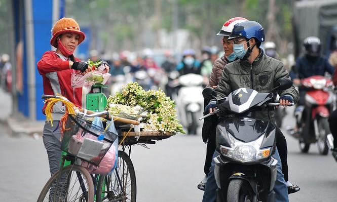 Đường phố Hà Nội ngát hương hoa bưởi - ảnh 7