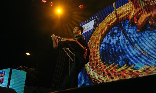 Nóng bỏng đêm nhạc chào tân sinh viên FPT Polytechnic  - ảnh 7